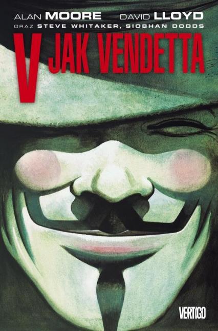 V jak Vendetta - Alan Moore | okładka