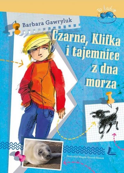 Czarna, Klifka i tajemnice z dna morza - Barbara Gawryluk | okładka