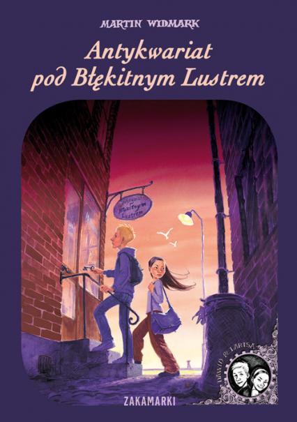 Antykwariat pod Błękitnym Lustrem - Martin Widmark | okładka