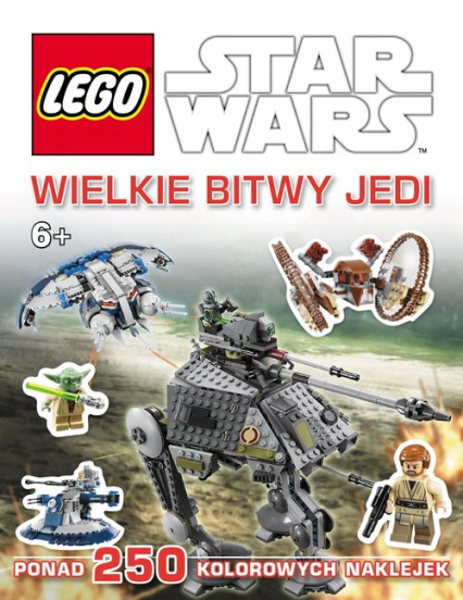 Lego Star Wars Wielkie bitwy Jedi -    okładka