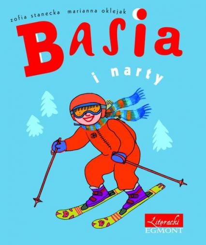 Basia i narty - Zofia Stanecka | okładka