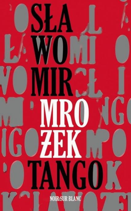 Tango - Sławomir Mrożek | okładka