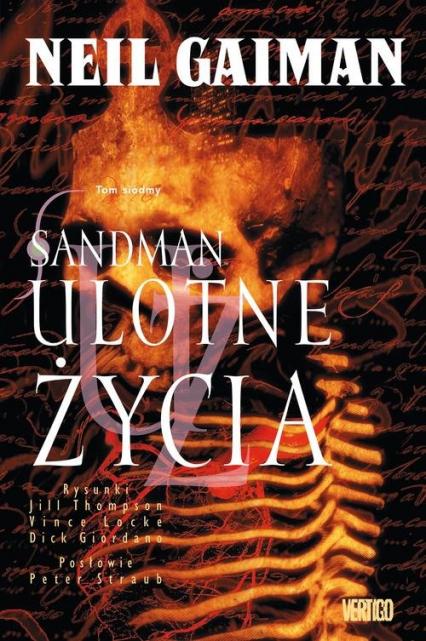 Sandman Tom 7 Ulotne życia - Neil Gaiman | okładka