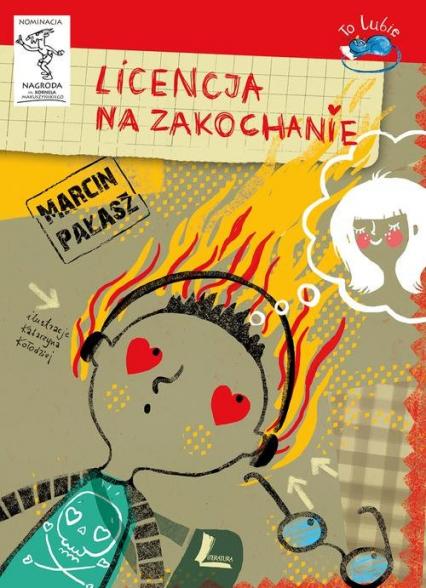 Licencja na zakochanie - Marcin Pałasz   okładka