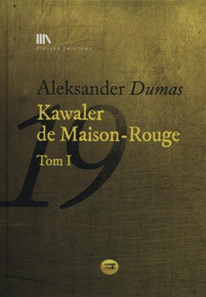 Kawaler de Maison-Rouge Tom 1 + CD - Aleksander Dumas   okładka