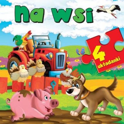 Na wsi Puzzle -    okładka