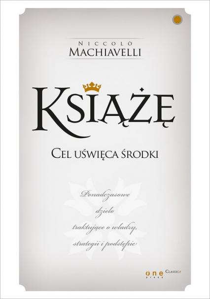 Książę - Niccolo Machiavelli   okładka