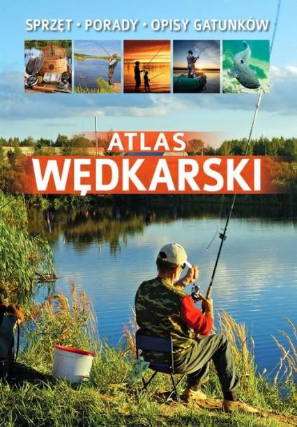 Atlas wędkarski - Łukasz Kolasa | okładka