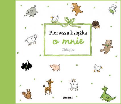 Pierwsza książka o mnie Chłopiec -  | okładka