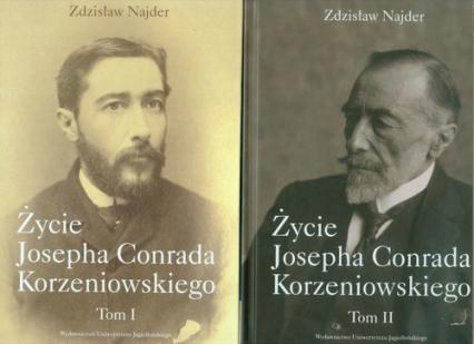 Życie Josepha Conrada Korzeniowskiego Tom 1-2 Pakiet - Zdzisław Najder | okładka