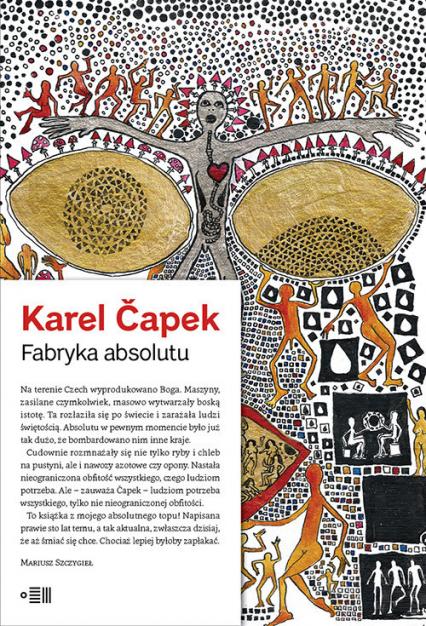Fabryka absolutu - Karel Capek | okładka
