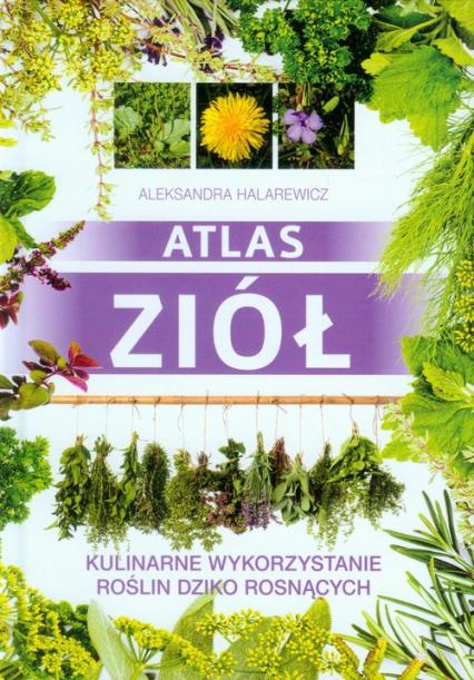 Atlas ziół Kulinarne wykorzystanie roślin dziko rosnących - Aleksandra Halarewicz | okładka