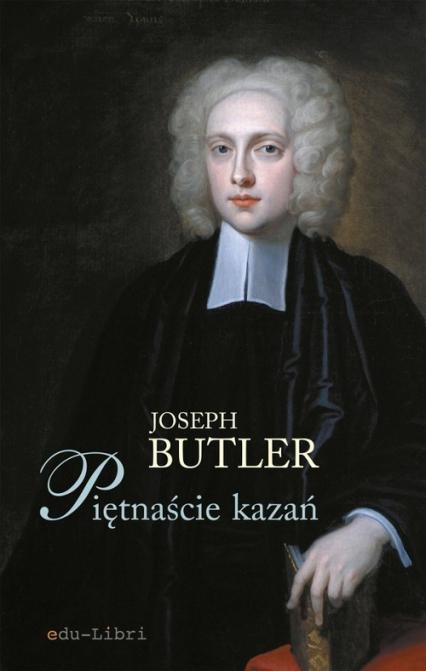 Piętnaście kazań - Joseph Butler | okładka