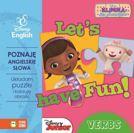 Let's have Fun Verbs z puzzlami Klinika dla pluszaków -  | okładka