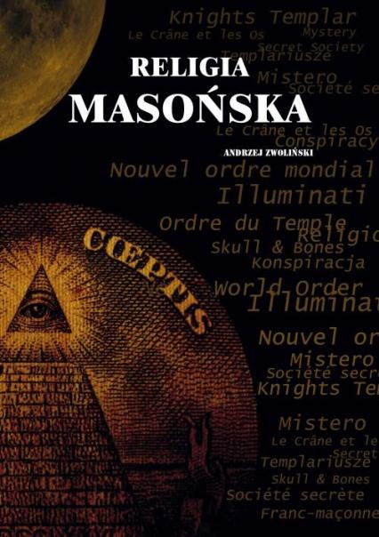 Religia masońska - Andrzej Zwoliński | okładka