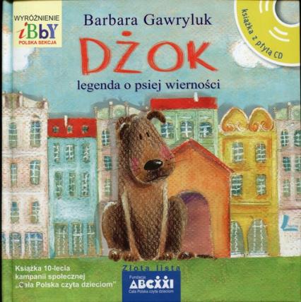 Dżok Legenda o psiej wierności - Barbara Gawryluk | okładka