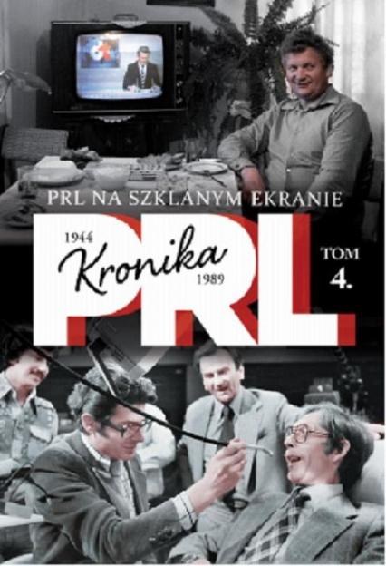 PRL na szklanym ekranie - Iwona Kienzler | okładka