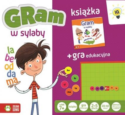 Gra w sylaby książka + gra edukacyjna - zbiorowa praca | okładka