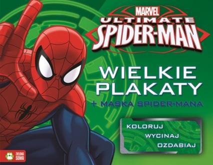 Spider-Man Wielkie plakaty + maska Spider-Mana