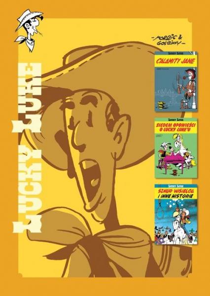 Lucky Luke: Calamity Jane; Siedem opowieści o Lucky Luke'u; Sznur wisielca i inne historie Tom 7 - Rene Goscinny | okładka