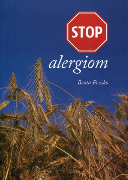 STOP alergiom - Beata Peszko   okładka