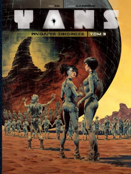 Yans Wydanie zbiorcze Tom 3 - Andre Duchateau | okładka