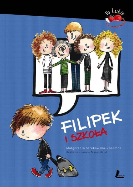 Filipek i szkoła - Małgorzata Strękowska-Zaremba | okładka