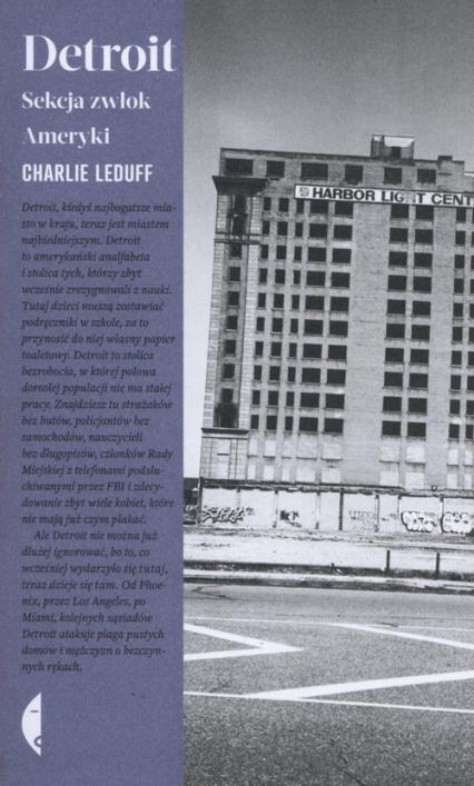 Detroit - Charlie LeDuff | okładka