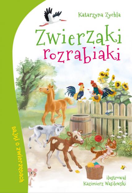 Zwierzaki rozrabiaki - Katarzyna Zychla | okładka