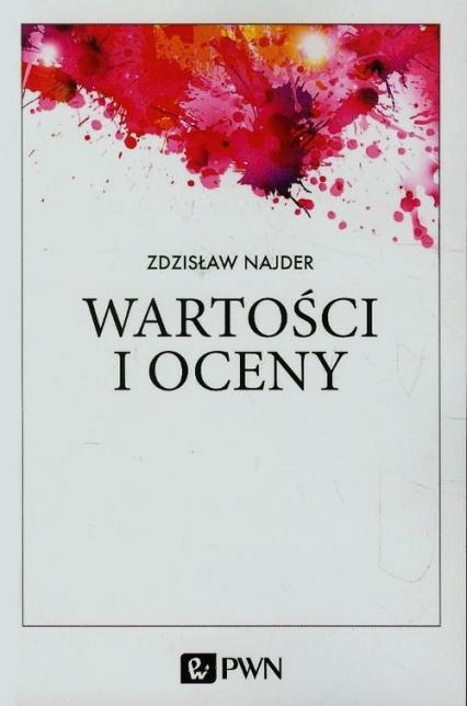Wartości i oceny - Zdzisław Najder | okładka