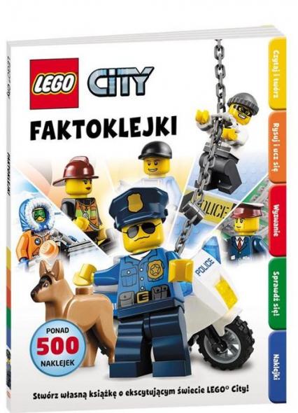 Lego City Faktoklejki -    okładka