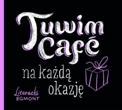 Tuwim Café na każdą okazję - Julian Tuwim | okładka