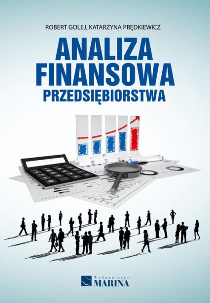 Analiza finansowa przedsiębiorstwa - Golej Robert, Prędkiewicz Katarzyna   okładka