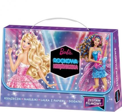 Barbie Rockowa Księżniczka Zestaw filmowy -  | okładka