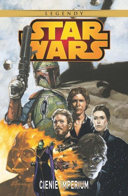 Star Wars - Cienie Imperium - John Wagner | okładka