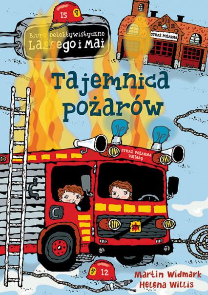 Tajemnica pożarów - Martin Widmark | okładka