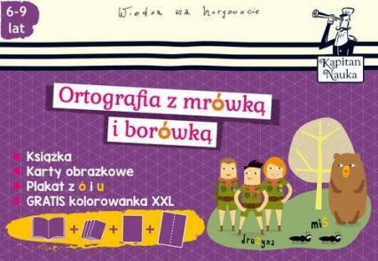 Pakiet Ortografia z mrówką i borówką -  | okładka