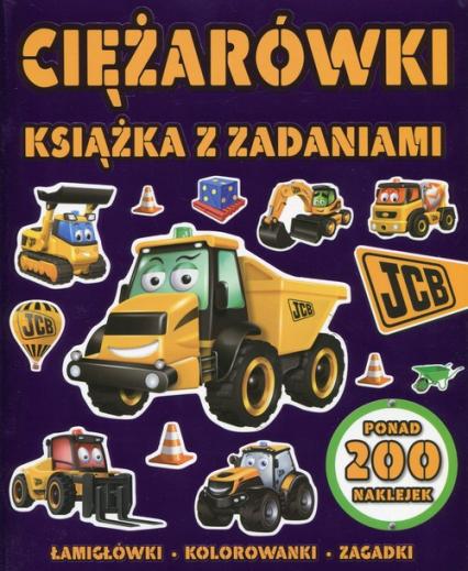 Ciężarówki Książka z zadaniami - zbiorowa praca | okładka