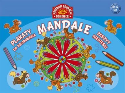 Mandale Plakaty do kolorowania Zeszyt niebieski -  | okładka