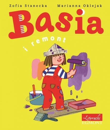 Basia i remont - Zofia Stanecka | okładka