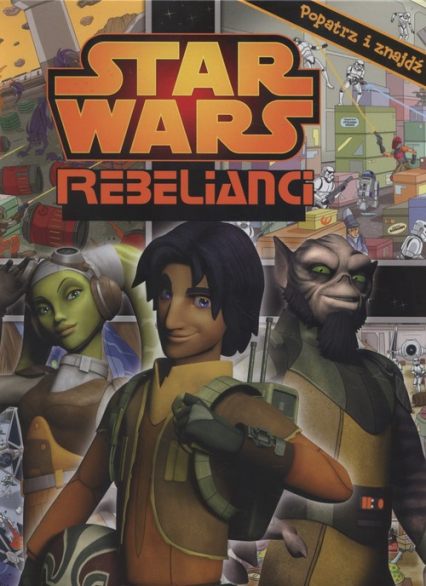 Star Wars Rebelianci Popatrz i znajdź -    okładka