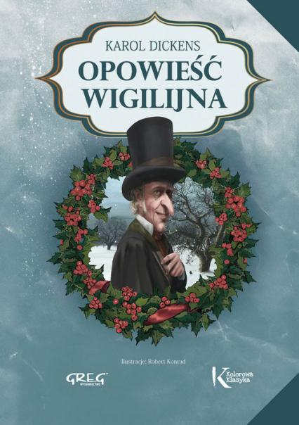 Opowieść wigilijna - Karol Dickens   okładka