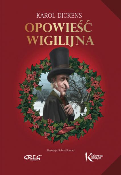 Opowieść wigilijna - Karol Dickens | okładka