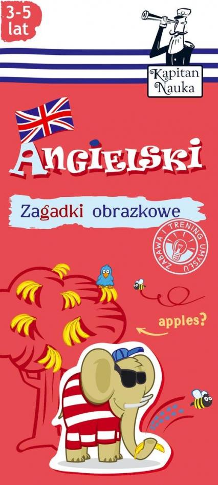 Zagadki obrazkowe Angielski 3-5 lat -  | okładka