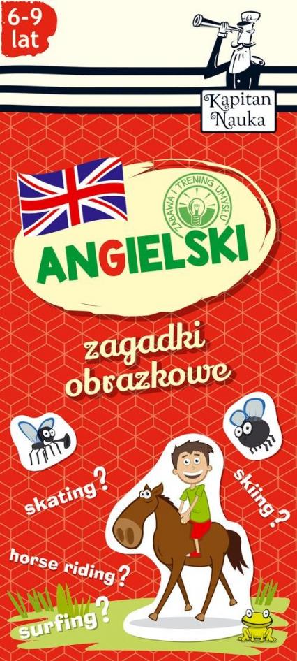 Zagadki obrazkowe Angielski 6-9 lat -  | okładka