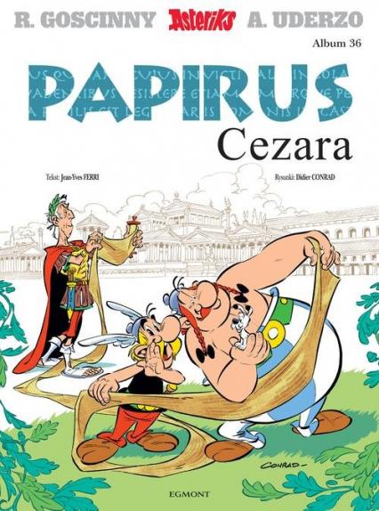 Asteriks Tom 36 Papirus Cezara -    okładka