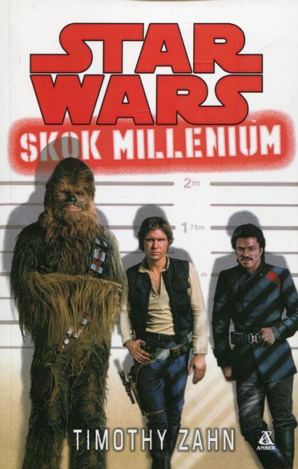 Star Wars Skok millenium - Timothy Zahn   okładka