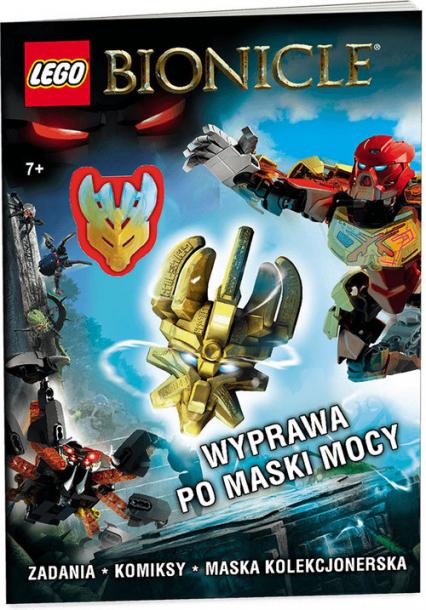 Lego Bionicle Wyprawa po maski mocy - zbiorowe opracowanie | okładka