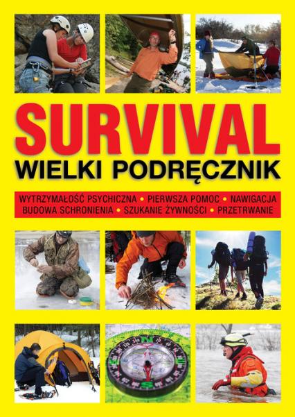 Survival Wielki podręcznik - Chris McNab | okładka