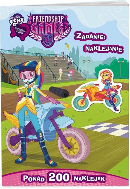 My Little Pony Equestria girls Zadanie naklejanie LAS-2003 - zbiorowe opracowanie | okładka